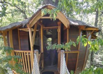 séjour cabane arbre